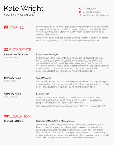 How To Write A Cv For Jobs In Uae 7 Steps Guide For 2019